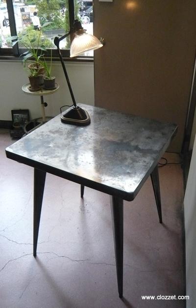 アンティーク TOLIX スチール テーブル