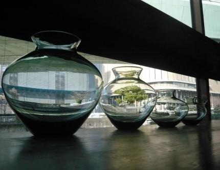 ヴィルヘルム・ヴァーゲンフェルト ガラス花瓶