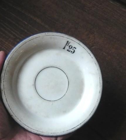 フランスカフェの小皿