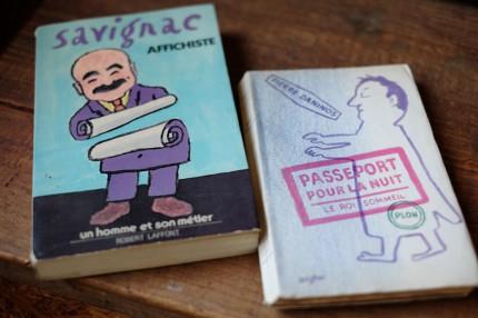サヴィニャックが表紙をデザインした本