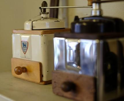 フランス プジョーのコーヒー豆挽き