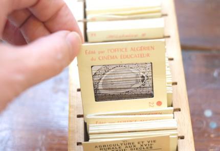 フランスの古いスライド写真(昔の学校の教材)