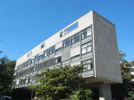 コルビュジェ建築 シテ ユニベルシテ スイス館