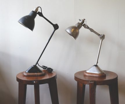 アンティーク ランプ グラ #206 と#207