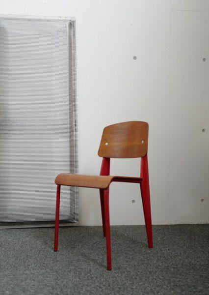 Jean Prouve chaise metropole no.305 1950