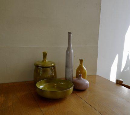 リュエランの花瓶とポット