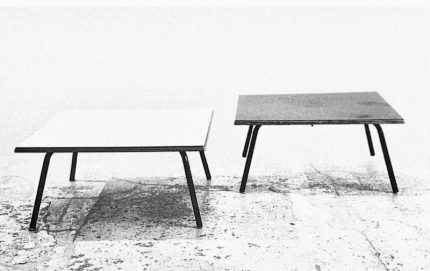 Charlotte Perriand Square Coffee Table