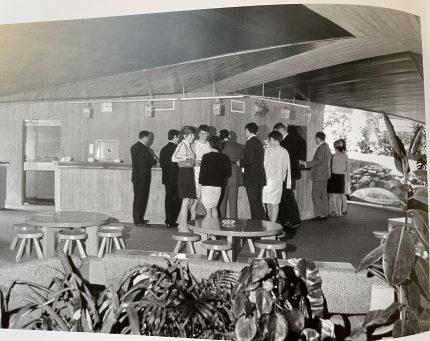1967年SANDOZ社のカフェテリア